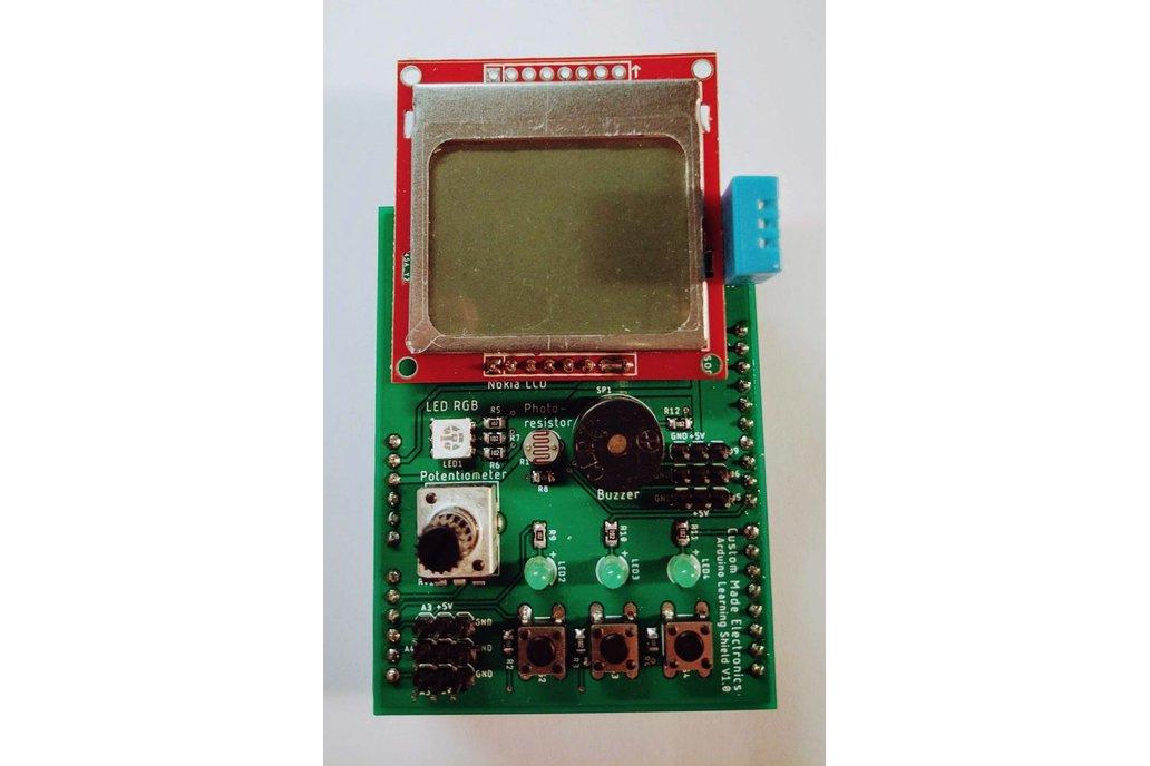 Arduino Learning Shield 1