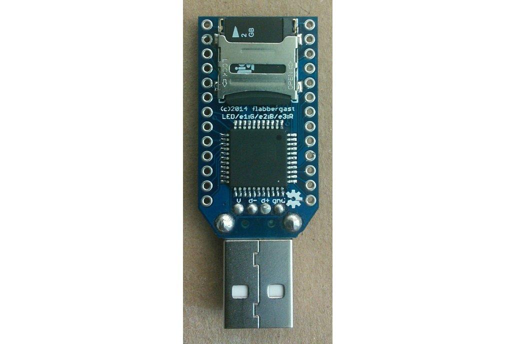 X-A4U: a programmable USB stick (PCB only) 3