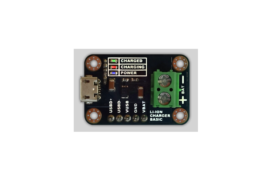 LiPo/Li-Ion Charger with USB breakout