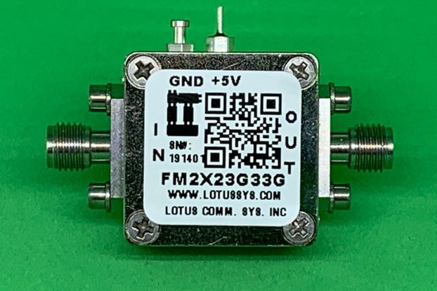 Active Freq. Multiplier X2 (OUTPUT 23G to 33 GHz)