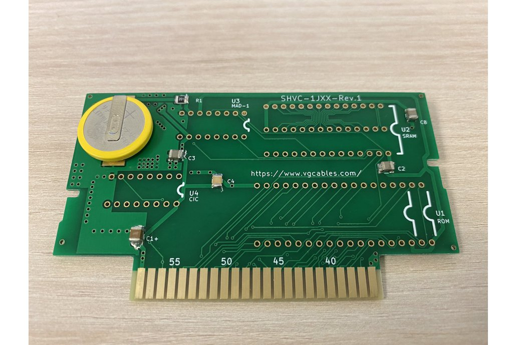 Replacement PCB / ROM Cartridge SNES 1