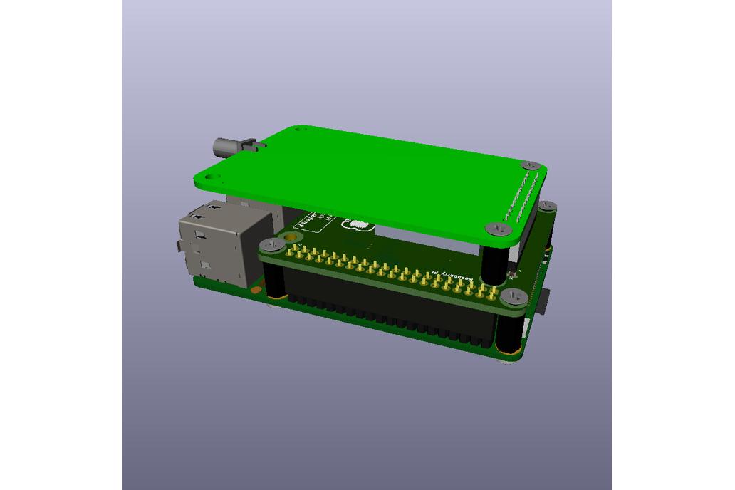 RAK831 Raspberry Pi Breakout/Backplane 9