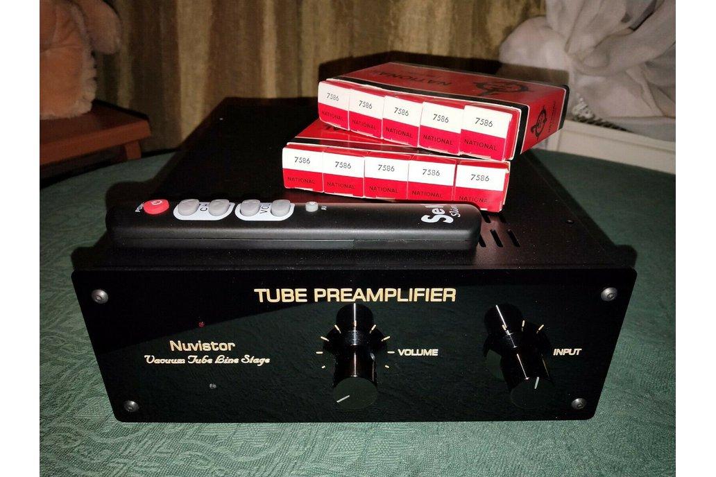 Nuvistor Tube Preamplifier 4x Nuvistor 7586 1