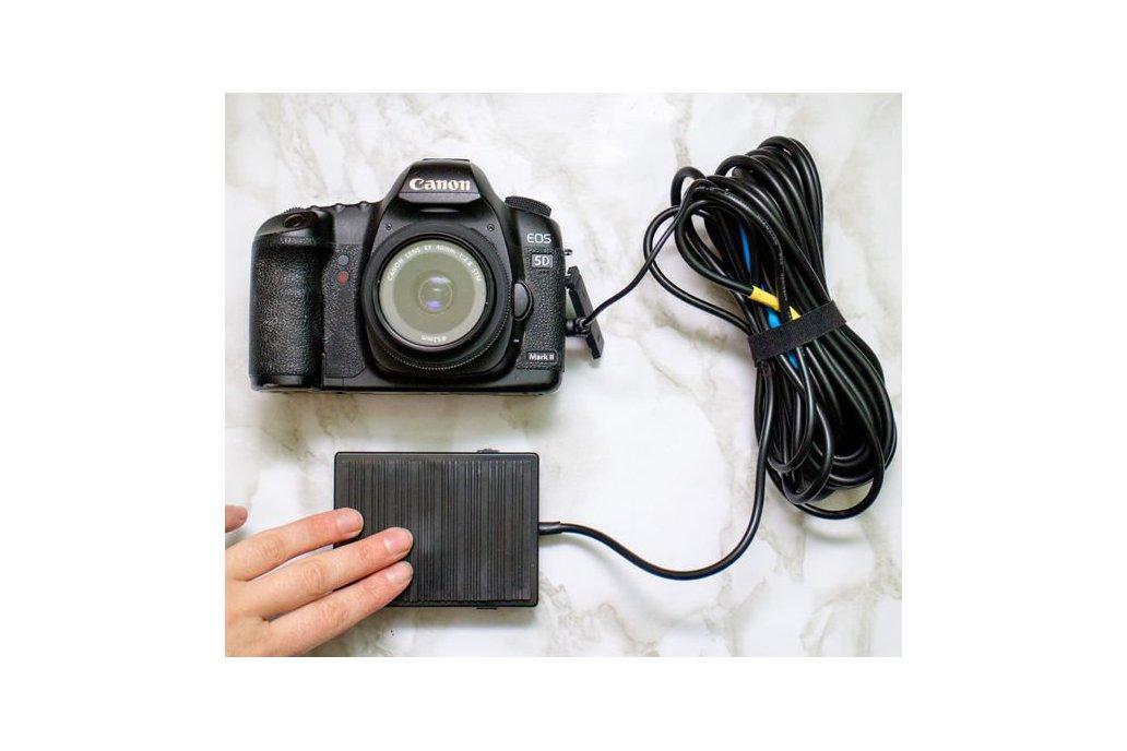 Foot-pedal DSLR Camera Remote 1