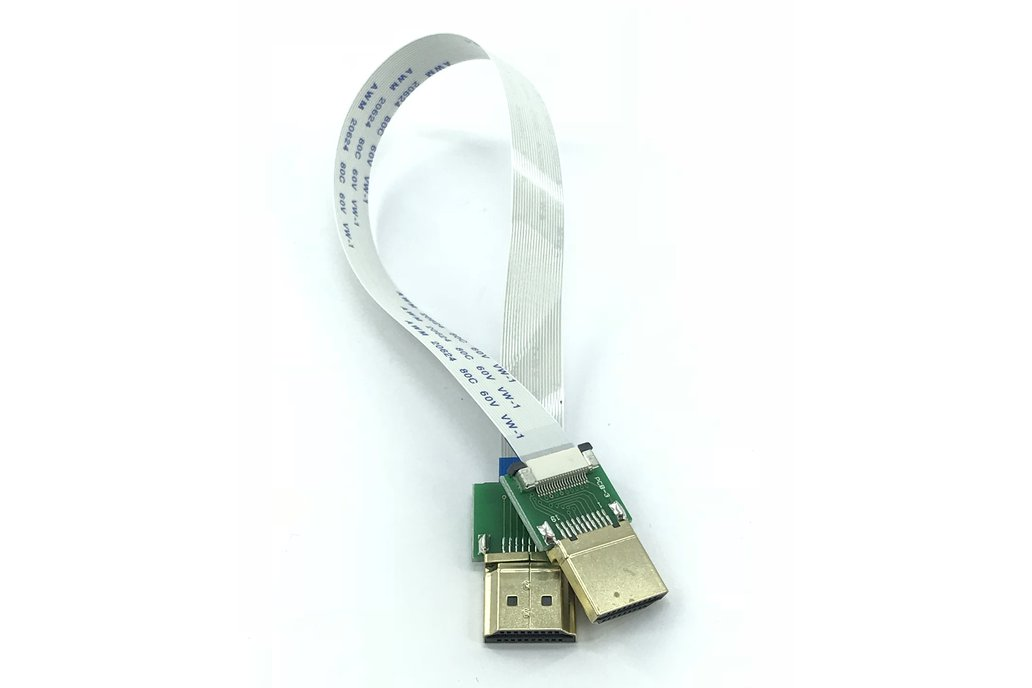 HDMI FPC-slim extension male-to-male cable 25cm 2