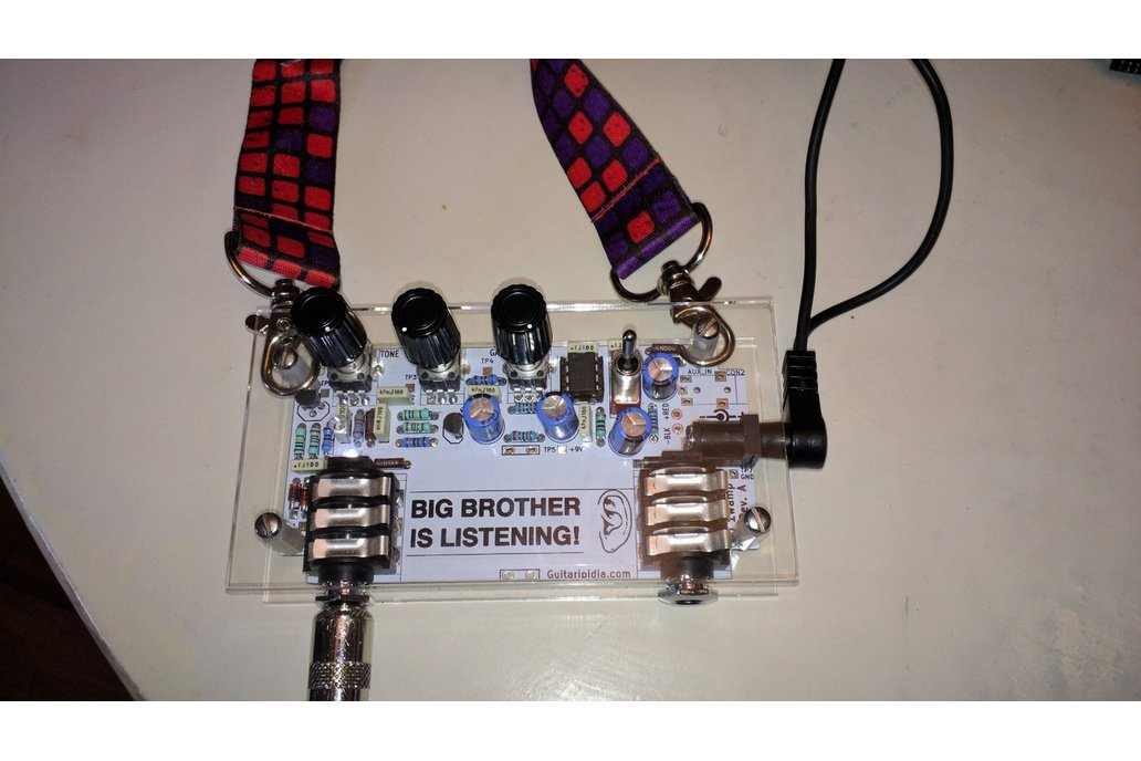 DIY Badge Amplifier 1