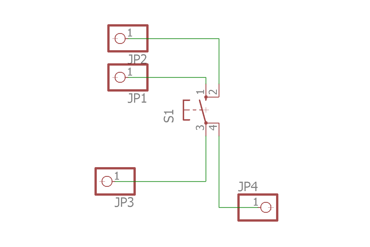 Breadboard Tactile Switches x 5