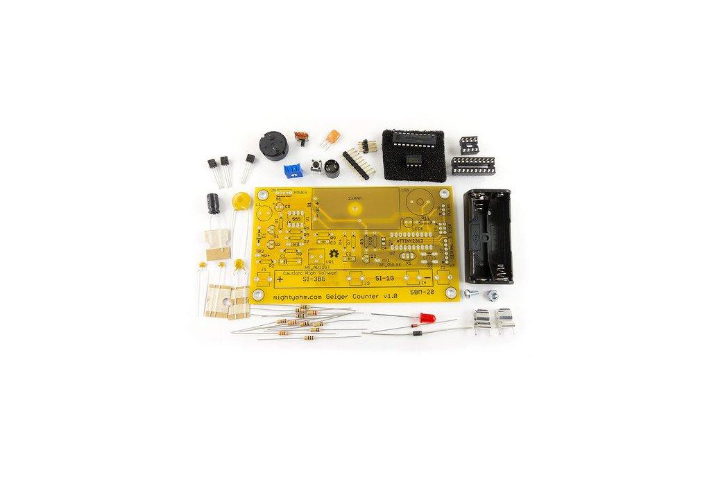 MightyOhm Geiger Counter Kit 3