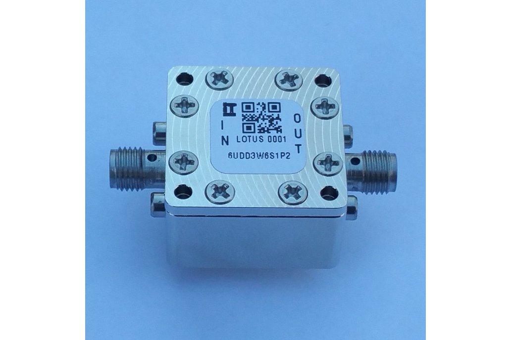 """Encl. Kit for 30mil/0.8mm PCB 9/16"""" Square (Pass.) 1"""
