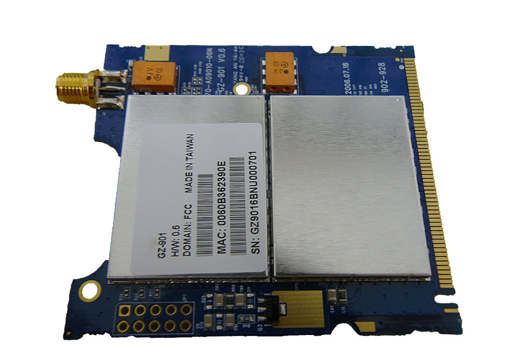 900mhz mini-pci Wireless Radio Card 318mW  1