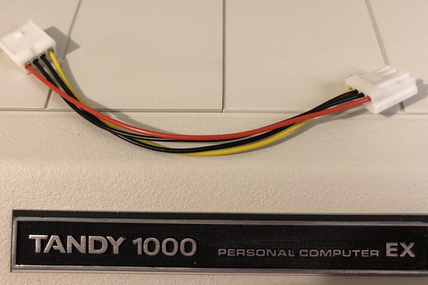"3.5""-3.5"" Floppy Power Cable - Amiga, Atari, Tandy"