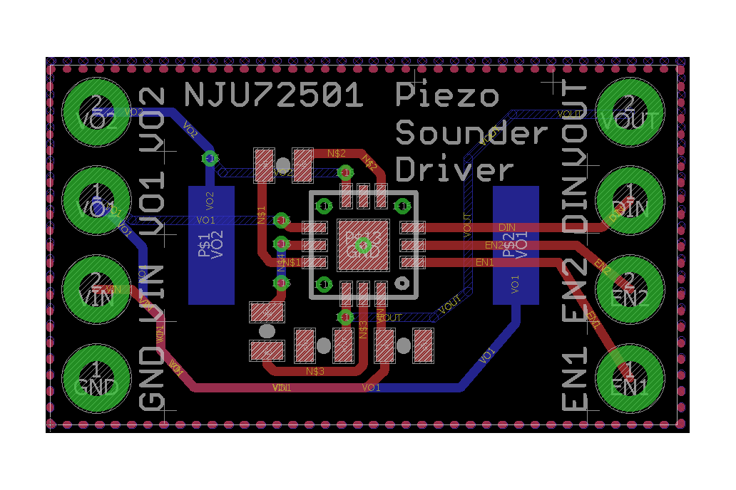Piezo Sounder Test Board 4