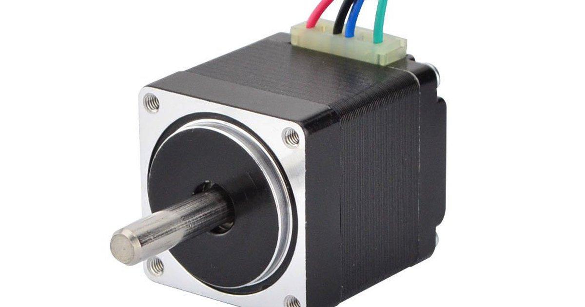 11HS12-0674S No Single keyed shaft STEPPERONLINE Mini Stepper Motor Nema11 Bipolar 3.8V 0.67A 8.5oz-in//6Ncm DIY Robot CNC