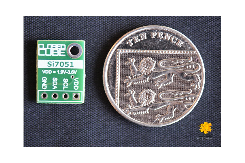 Si7051 ±0.1°C (max) Digital Temperature Sensor 2