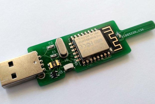 Temp and pressure USB WiFi sensor