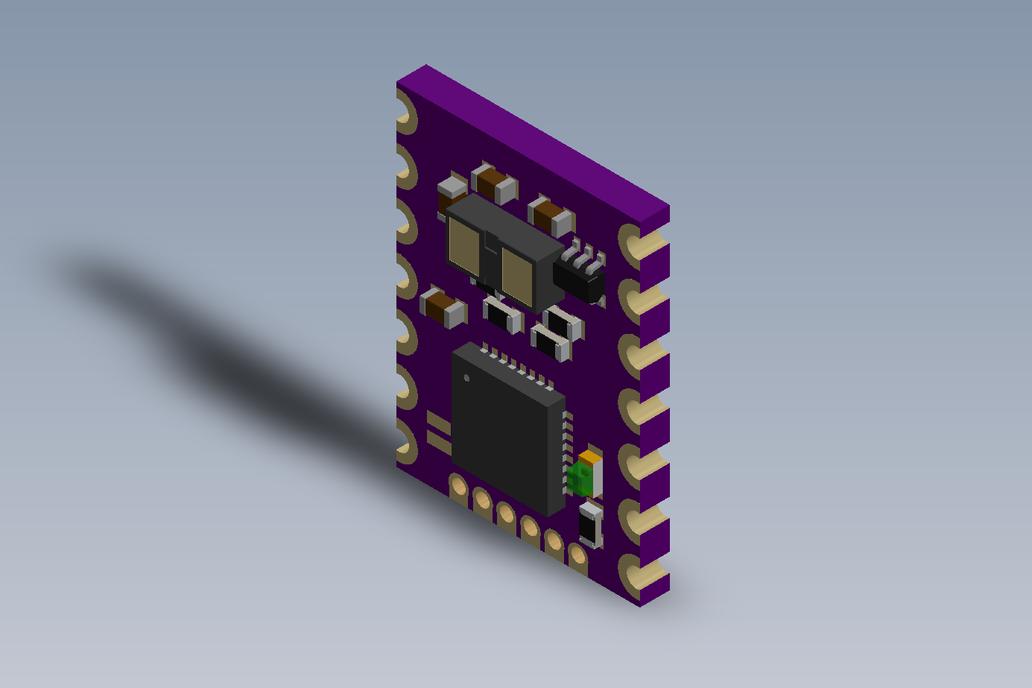MappyDot Plus: A Smarter Micro LiDAR (VL53L1X) 3