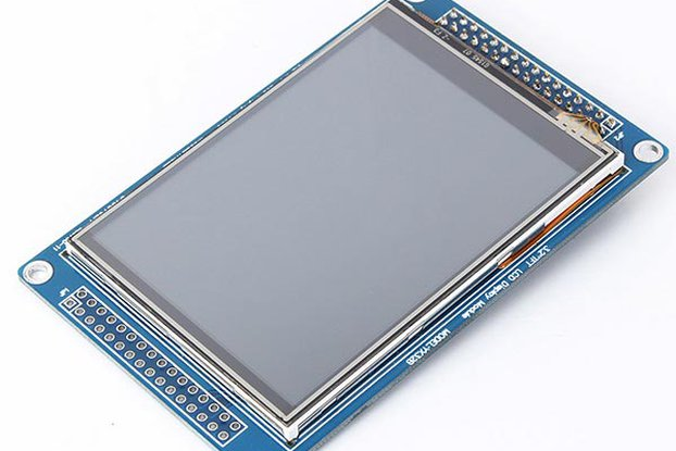 3.2 Inch SSD1289 TFT LCD Display Module Touch Panel For Arduino