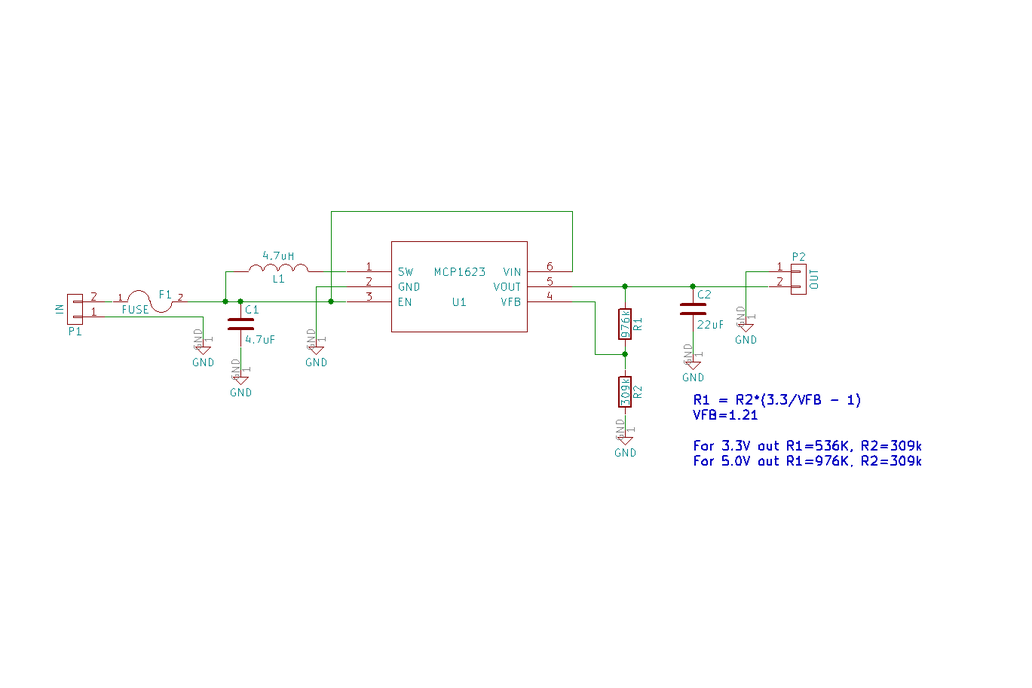 MCP1623 5V Voltage Booster 3