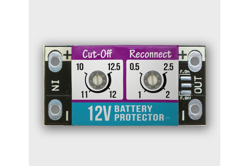 15A LOW VOLTAGE BATTERY PROTECTOR / CUT-OFF 1