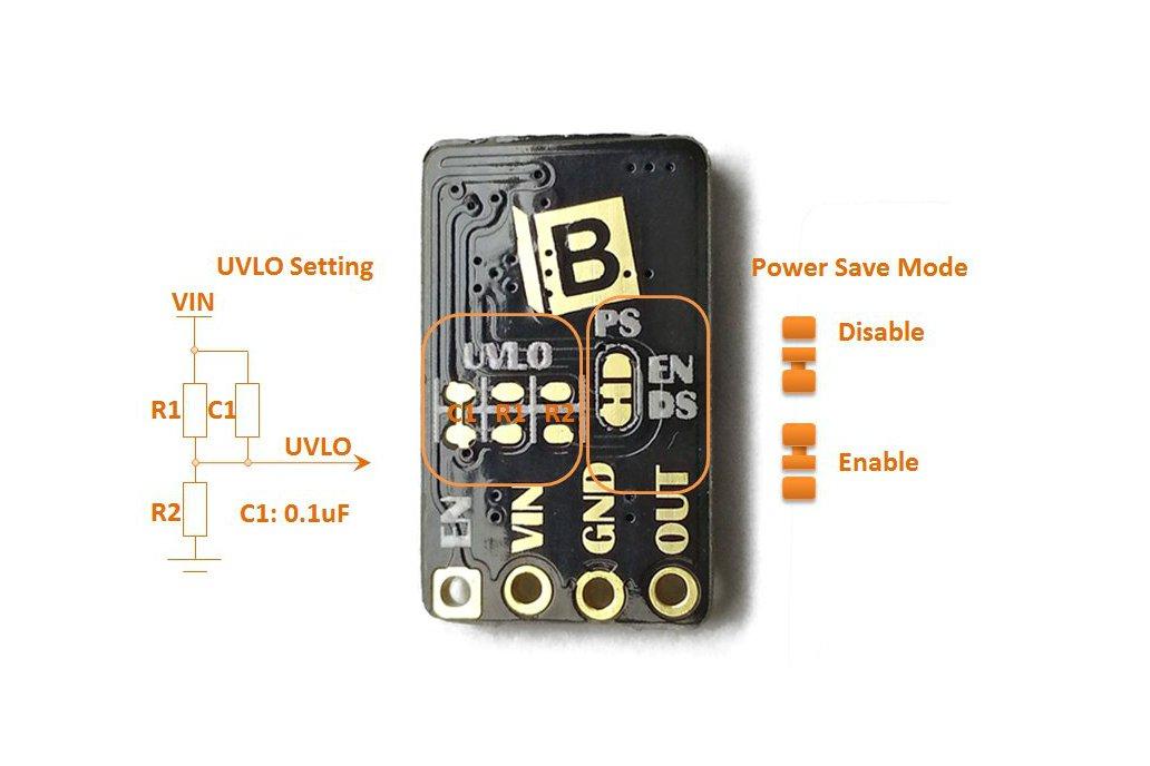 TPS61200 Power Step-Up Converter Booster V1 2