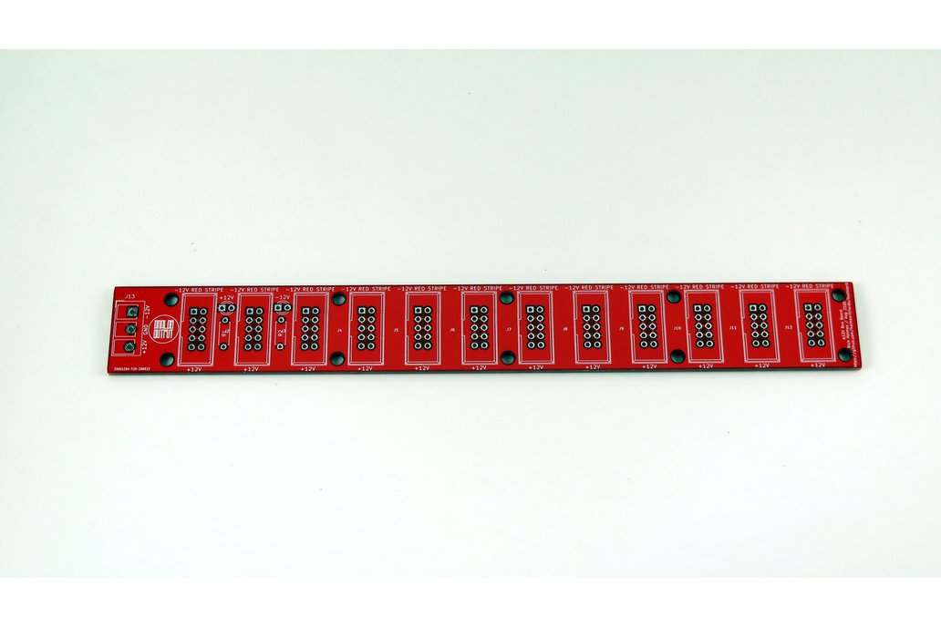 Analog Output 12x(2x5) bus board (red) 1