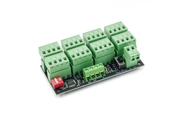 ElectroMage Pro 5-12V 8x WS2812/APA102 LED Driver