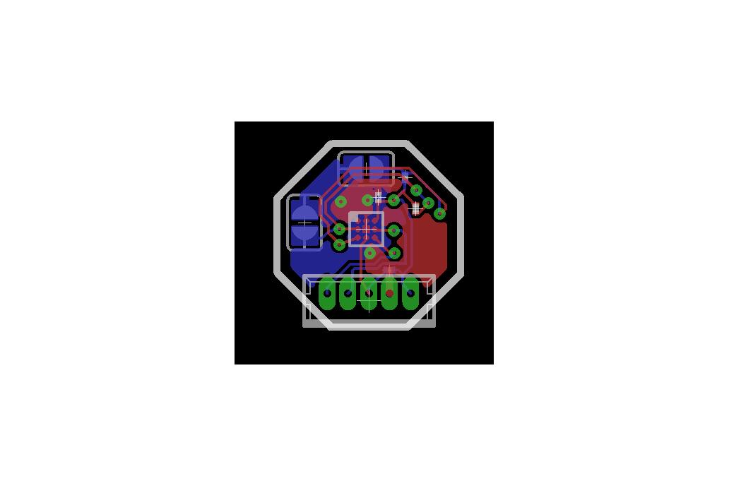 MyOctopus i2c  IR Sensor Board TMP007 2