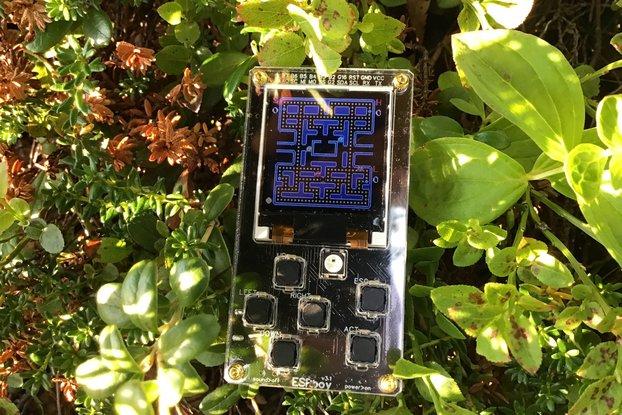 ESPboy2-Retro gaming&Software development MuliTool
