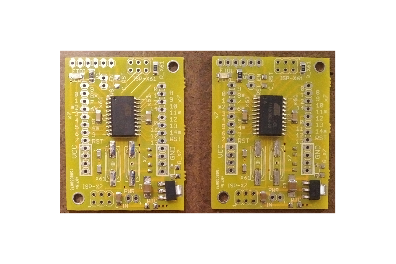 ATtiny 861 or 167 Development Board (assembled)