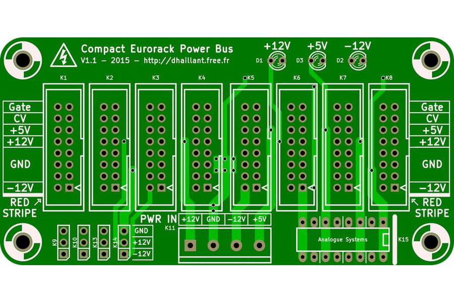 Eurorack Compact Power Bus