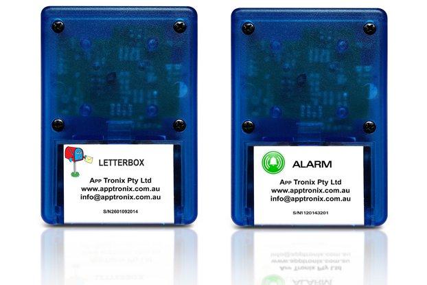 Wireless letterbox alarm
