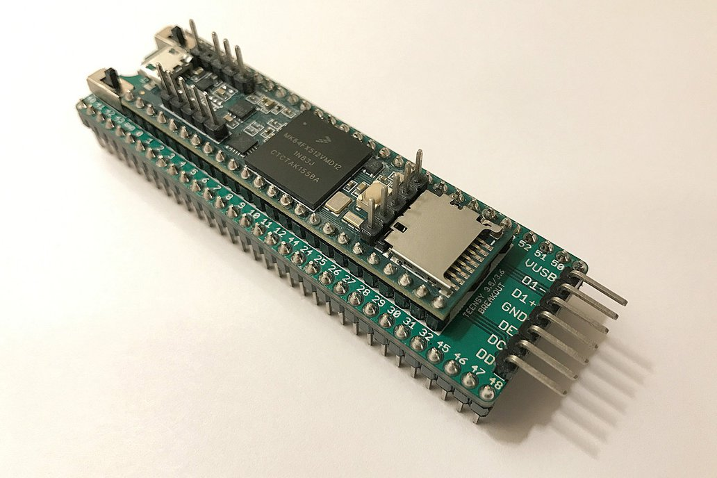 Teensy 3.5/3.6 Breakout (Revision A, DIP-64) 1