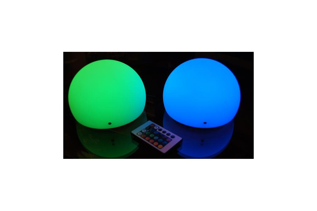 "Brighttone 6"" music activated RGB LED Mini Moon 5"