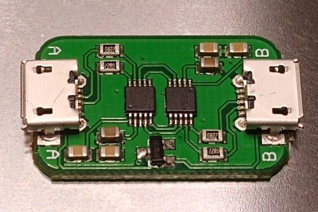 USB-USB NULL Modem (CDC)