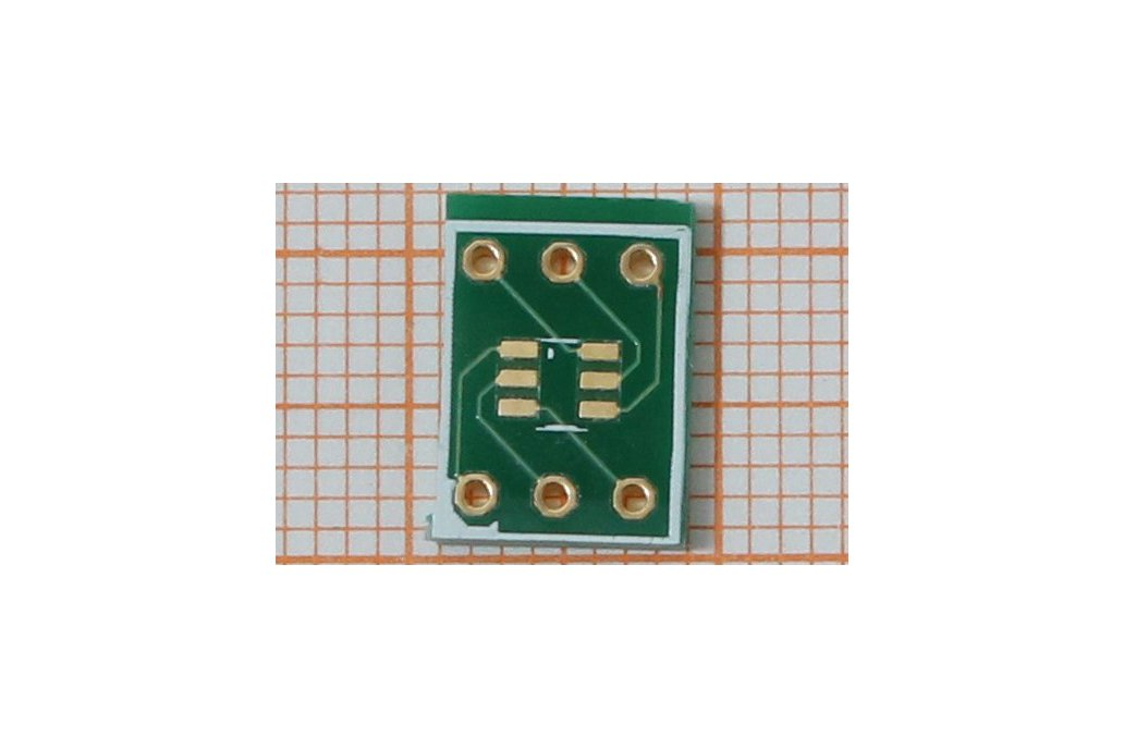 SMD Adapter SOT23-6 or 2xSOT23 1