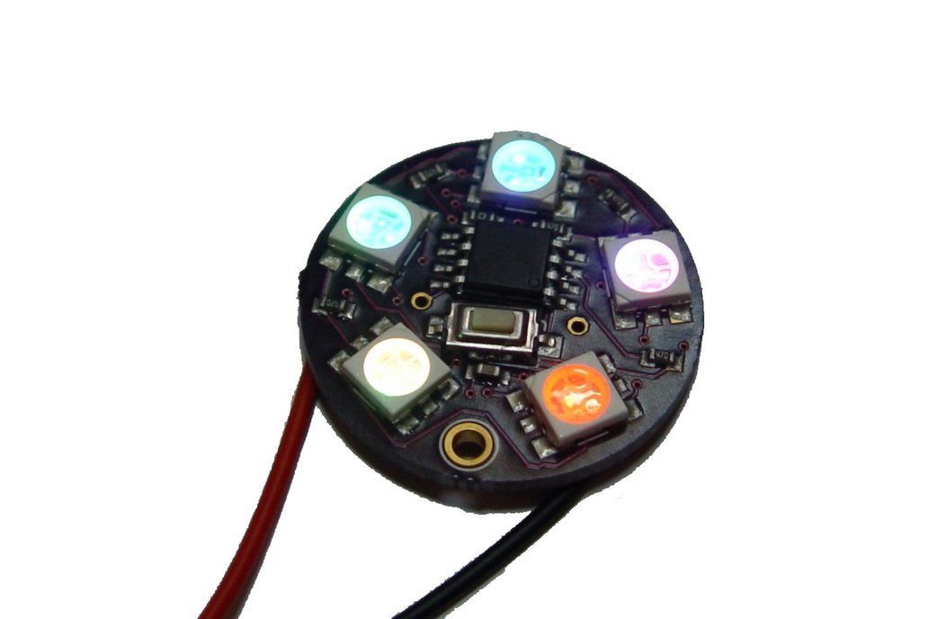 5050 RGB led ring circle decoration module 2