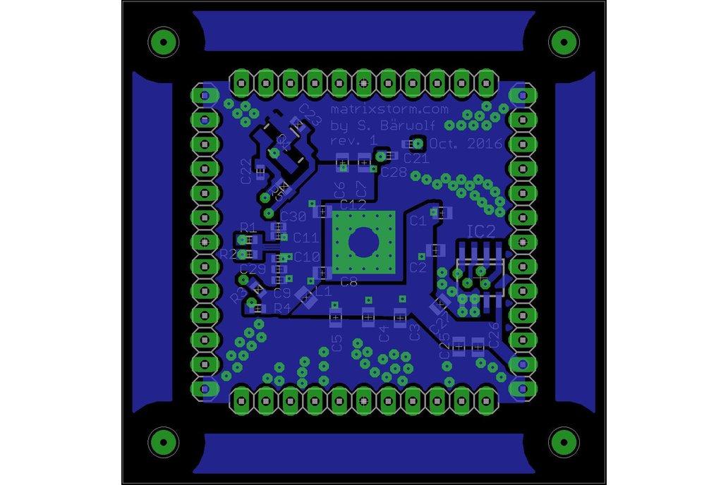 LAN951X USB (-HUB), Ethernet & GPIO adapter board 14