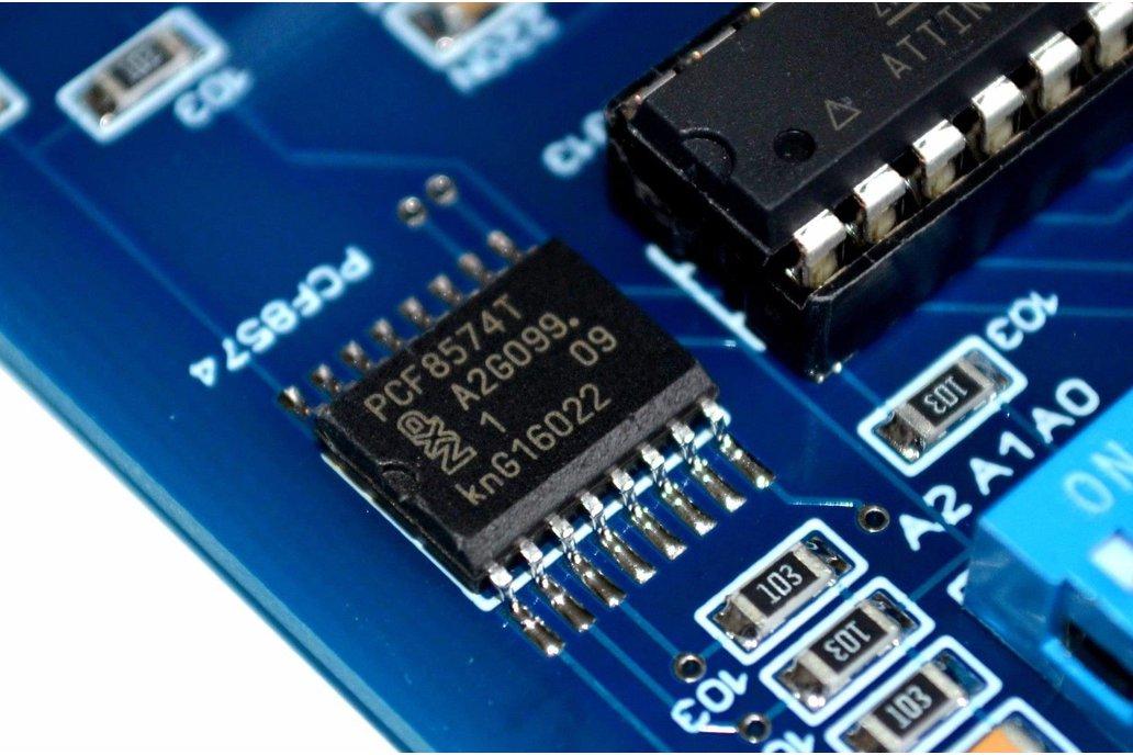 I2C 4CH AC LED Dimmer Module 8