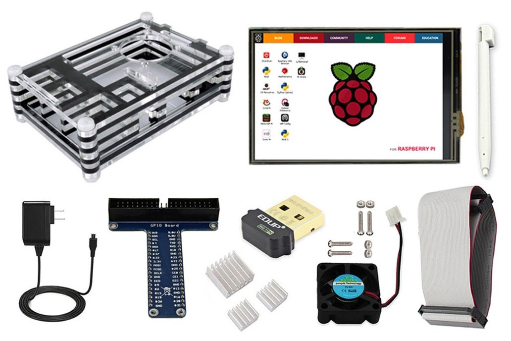 Starter Kit for Raspberry Pi Model 3B+ 1