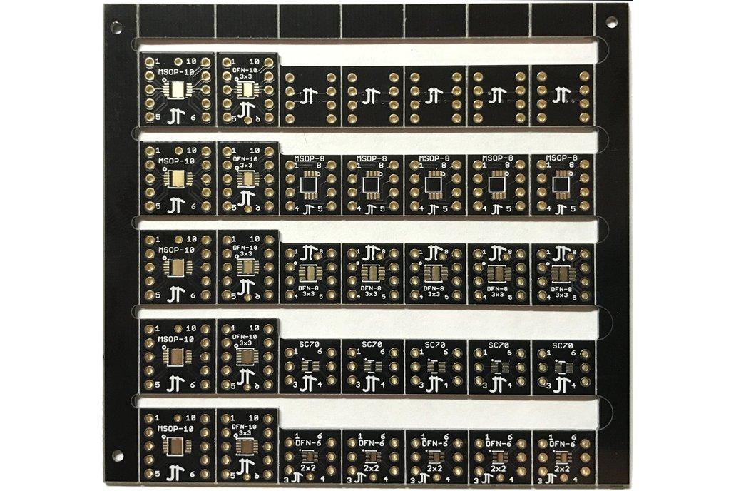 Huge Set of 50 Breakout Boards; SOIC, TSSOP, DFN 1