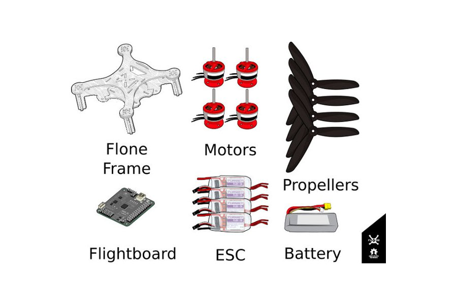 Flone  3.0  Drone Starting Kit