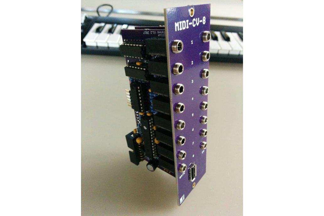 MIDI-USB Keyboard Controller (Eurorack PCB Set) 5