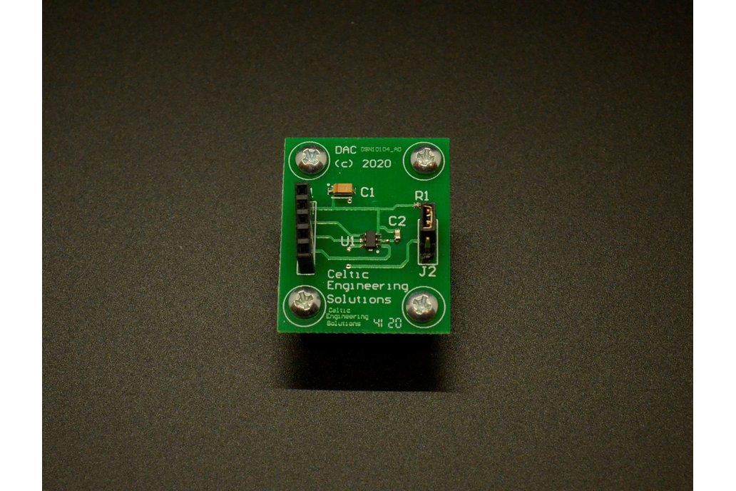 I2C Digital to Analog Converter (w/ Arduino Code!) 1