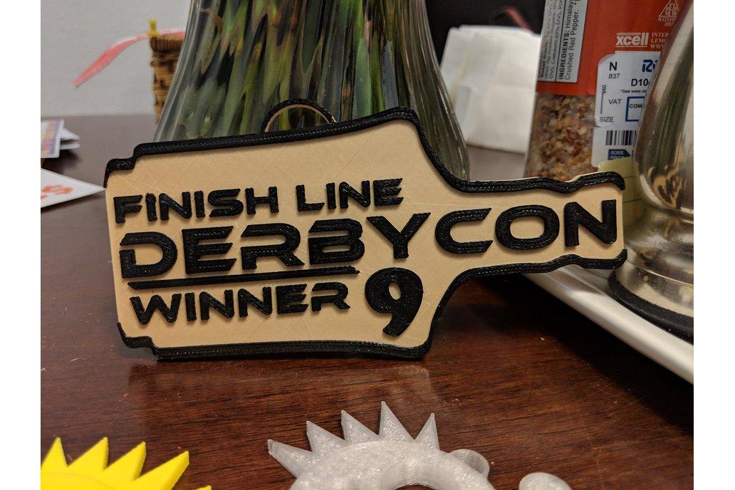 Derbycon Winning Bourbon Badge 1