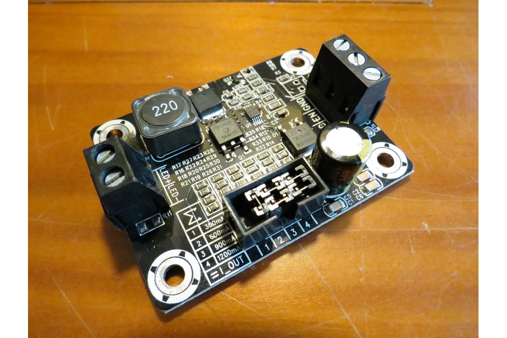 LED driver 3A power dimmer 0 to 100W PWM analog in 1