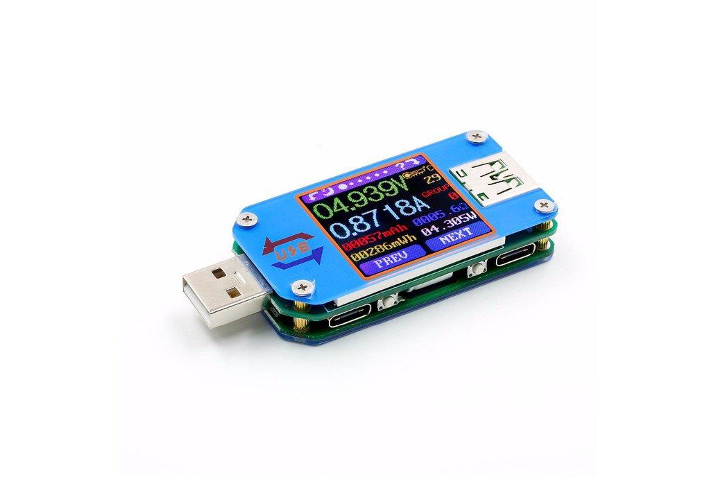 USB color display tester 1