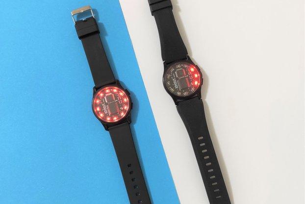 iOWatch (Arduino compatible digital watch)