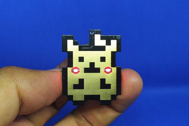 Pika pin badge SE