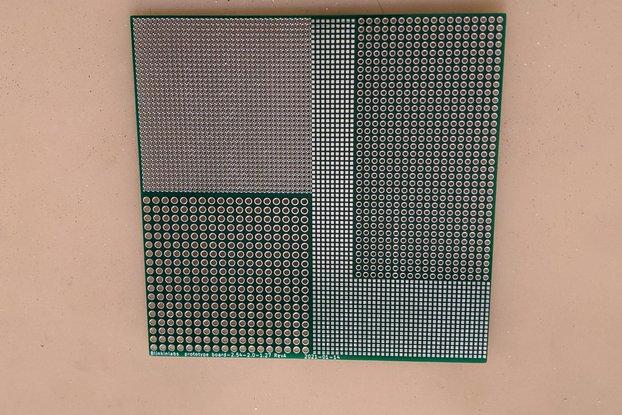 1.27-2.0-2.54 pogo pin  perfboard