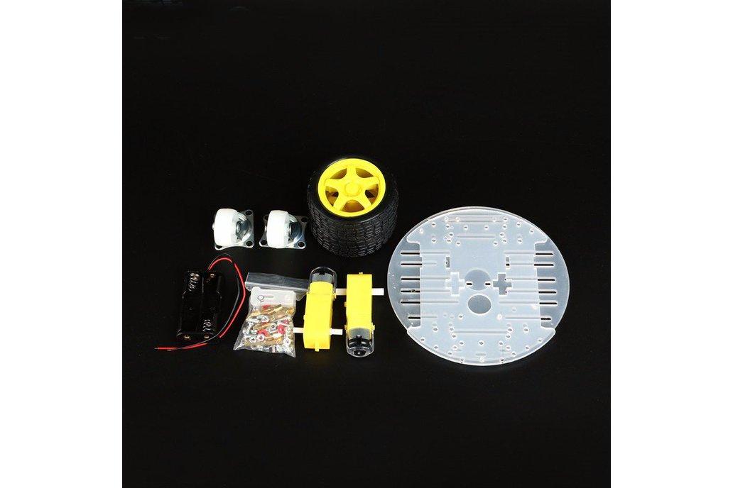 Round 2 Wheel-Drive Robot Car Kit 4